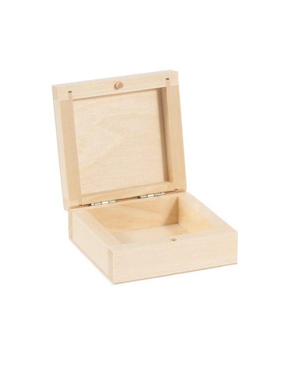 small-square-casket