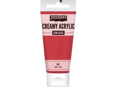 pentart-creamy-acrylic-semi-gloss-rot-60-ml