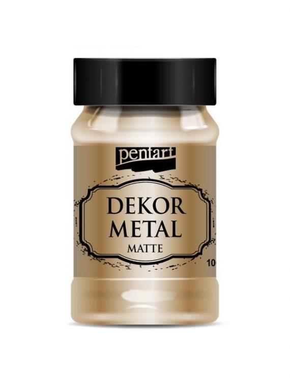 Dekor Metal Matte 100ml Bronze