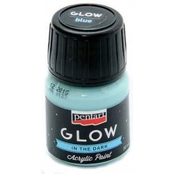 glow-in-the-dark-acrylic-paint-pentart-blue-30-ml
