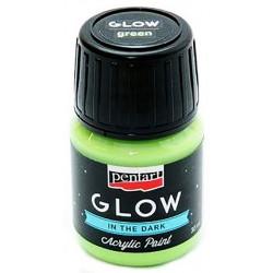 glow-in-the-dark-acrylic-paint-pentart-green-30-ml