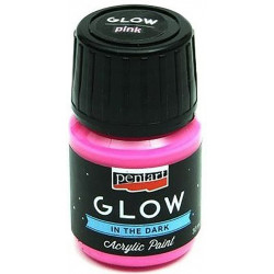 glow-in-the-dark-acrylic-paint-pentart-pink-30-ml